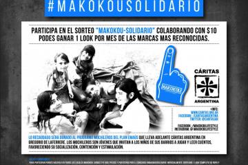 MAKOKOU - Cupón solidario - Flyer