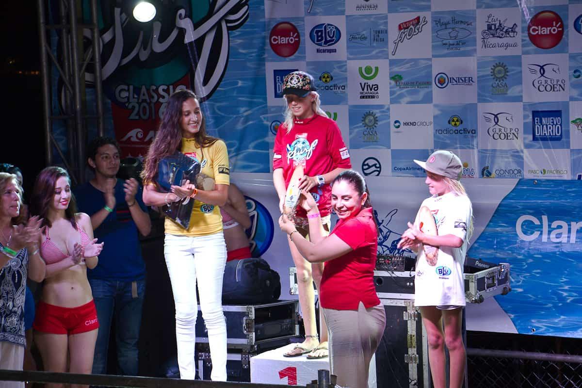 En la categoría Open Damas, Valentina Resano de Nicaragua se llevó el título de Campeona Latinoamericana.